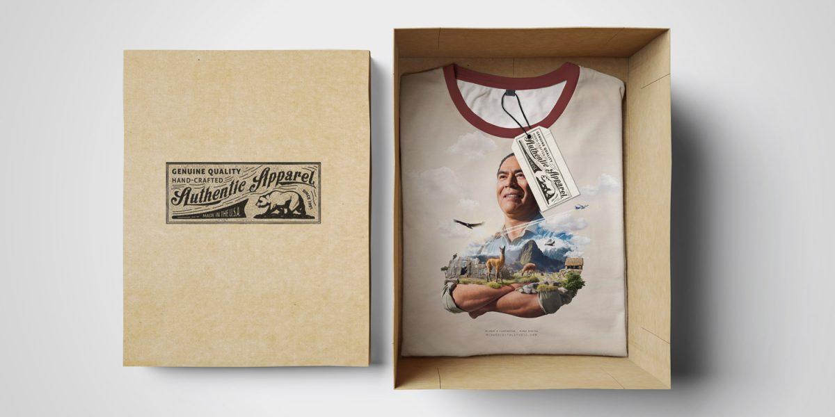 подарочная футболка